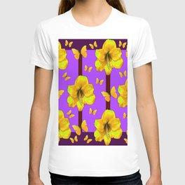FOR THE LOVE OF BUTTERFLIES PURPLE ART T-shirt