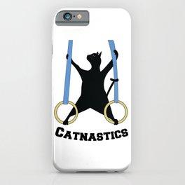 Catnastics Rings iPhone Case
