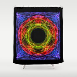 Vacancy / Enter Shower Curtain
