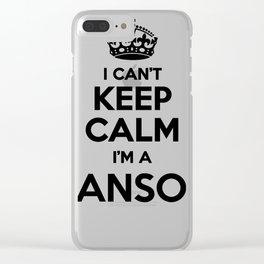 I cant keep calm I am a HANSON Clear iPhone Case