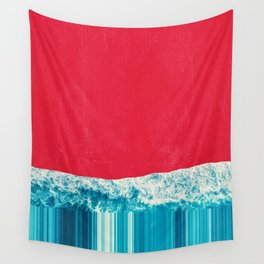 Red Tide Wall Tapestry