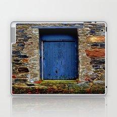 The Blue Door of Ballymascanlon Laptop & iPad Skin