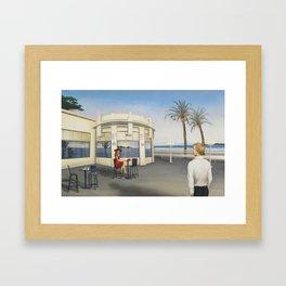 La derniere Framed Art Print
