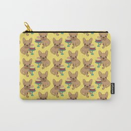 Frenchie has a Birthday Carry-All Pouch