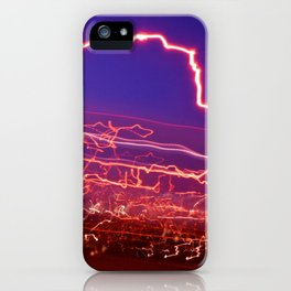 City (Light)s (Graffiti) 9 iPhone Case