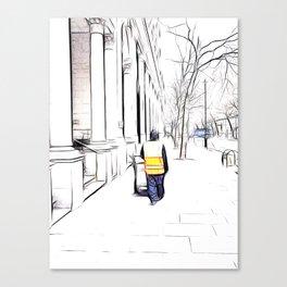 City Streets 3 Canvas Print