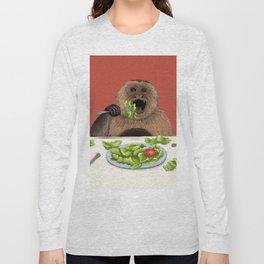 Dieting Monkeys Long Sleeve T-shirt