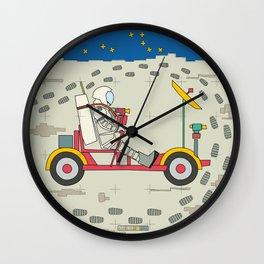 Moon Rover 1969 Wall Clock
