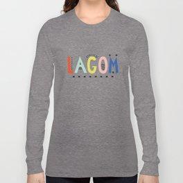Lagom colors Long Sleeve T-shirt