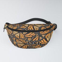 Monarch Butterflies, So Many Monarchs! No gaps! Fanny Pack