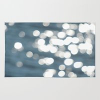 sparkles Area & Throw Rugs featuring Sparkles by Lady Tanya bleudragon