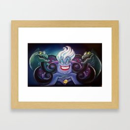 The Sea Witch Framed Art Print