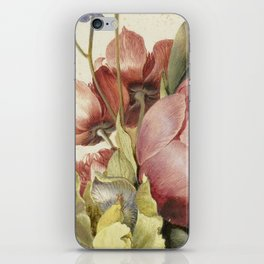 Flowers in a Bottle by Dirck de Bray iPhone Skin