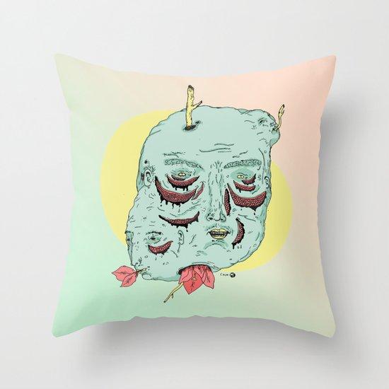 Caras Throw Pillow