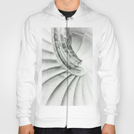 Sand stone spiral staircase 009 Hoody