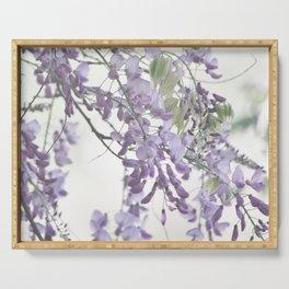 Wisteria Lavender Serving Tray