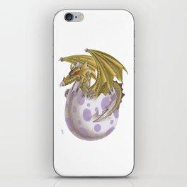 Baby dragon iPhone Skin