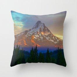When Adventure Begins Throw Pillow