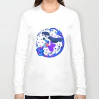 aquarius Long Sleeve T-shirts featuring Aquarius by DanBee Kim