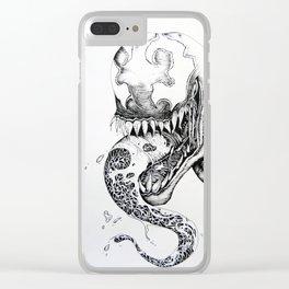 Venom Clear iPhone Case