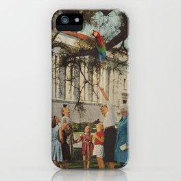 Polly Found iPhone Case