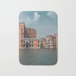 Grand Canal of Venice // Traveling & Lifestyle Collection Art Print Bath Mat
