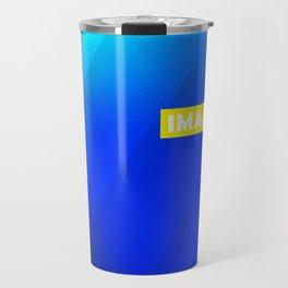 IMAGINE gradient no1 Travel Mug