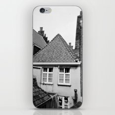 · My home...· Analogical Photography Black & White iPhone & iPod Skin