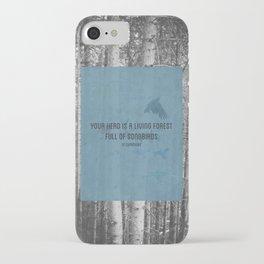 ee cummings - songbirds. iPhone Case
