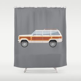 Grand Wagoneer Shower Curtain