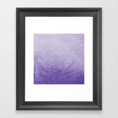 Grape Frost Framed Art Print