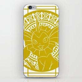 Stained Glass - Pokémon - Vaporeon iPhone Skin