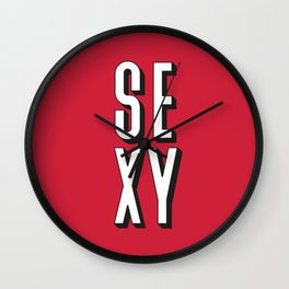 Sexy! Wall Clock