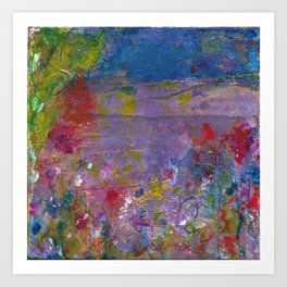 Abstracted Inuition Art Print