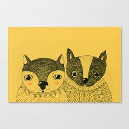 ME & YOU Canvas Print