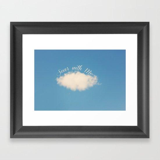 Soar with Me Framed Art Print