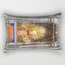 Saint Padre Pio St Stephens Cathedral Vienna Rectangular Pillow