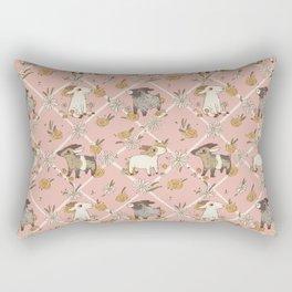goat pattern 2 Rectangular Pillow