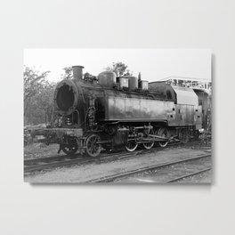 old steam locomotive 2 Metal Print