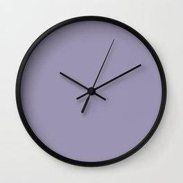Heirloom Lilac Wall Clock