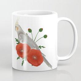 Light Grey/Cinnamon Cockatiel Coffee Mug