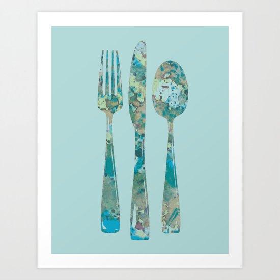 Culinary art Art Print