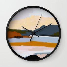abstract silence Wall Clock