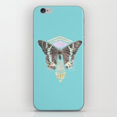 Two Butterflies iPhone & iPod Skin