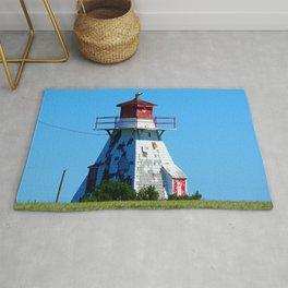 Lighthouse in Disrepair Rug