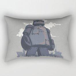 Panda 2K Rectangular Pillow