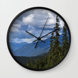 Muted Echo Wall Clock