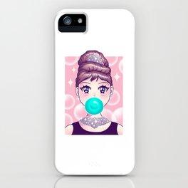 Kawaii Bubble Gum iPhone Case
