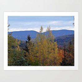 Mont Albert Quebec Art Print