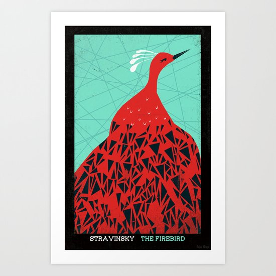 The Firebird - Stravinsky Art Print